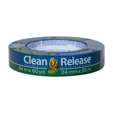 Duck Brand Clean Release Painter's Tape, Blue, 0.94